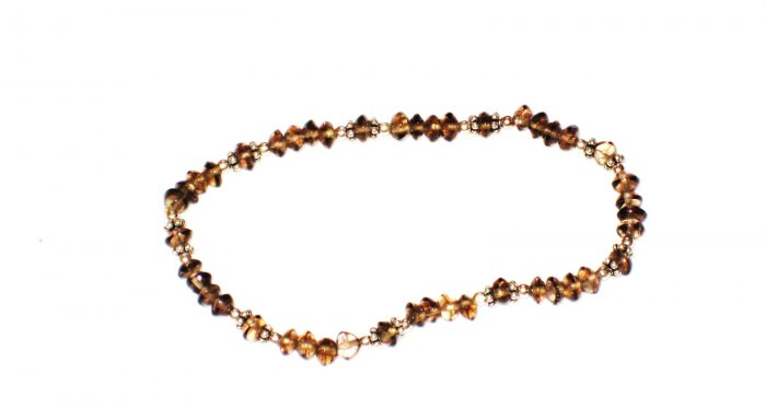 ST187    Smoky Quartz Bracelet set in Sterling Silver