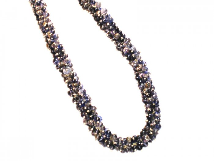 ST355 Agate Necklace in Sterling Silver