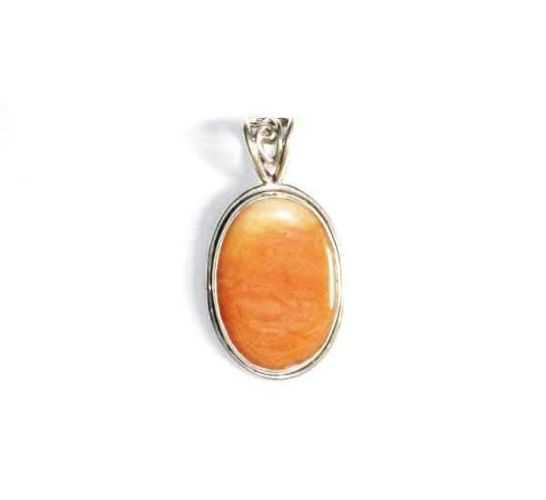 PN154 Agate Pendant in Sterling Silver