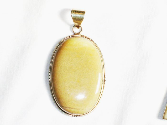 PN223 Agate Pendant in Sterling Silver