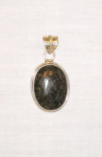 PN395 Agate Pendant in Sterling Silver