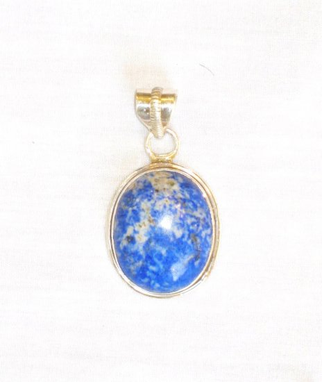 PN468     Blue Jasper Pendant in Sterling Silver