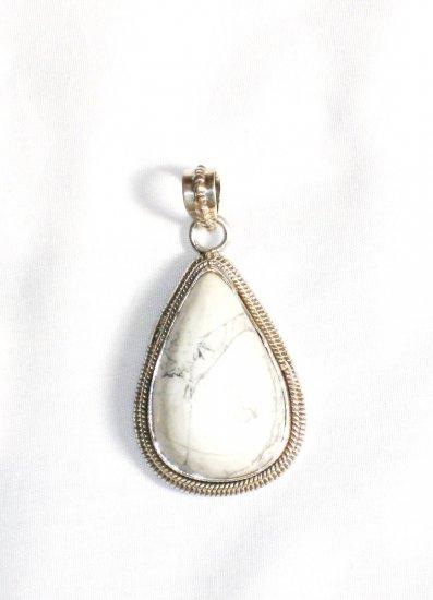 PN260     Dendrite Opal Pendant in Sterling Silver