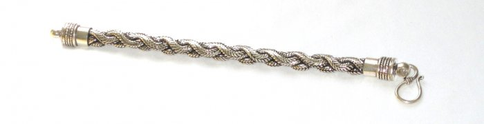 AQ168  Antique Silver Bracelet in Sterling Silver