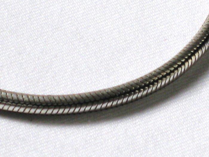 AQ147  15 inch    Antique Silver Chain