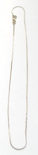 AQ158  16 Inch   Antique Silver Chain