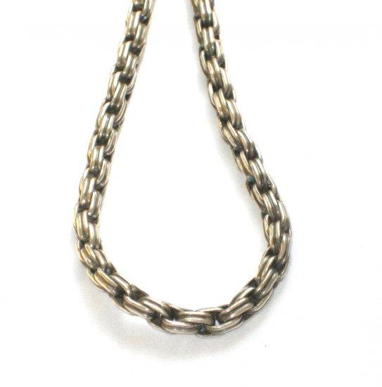 AQ164  16 Inch   Antique Silver Chain