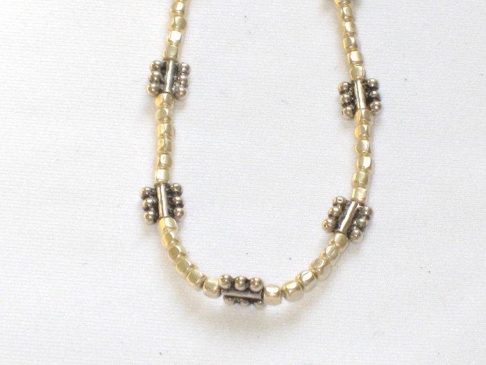 AQ169  16 Inch   Antique Silver Chain