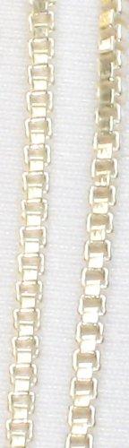 AQ170  17 inch   Antique Silver Chain