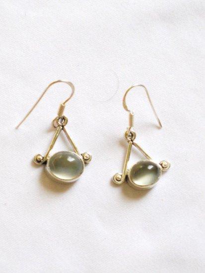 ER087       Opal Earrings in Sterling Silver