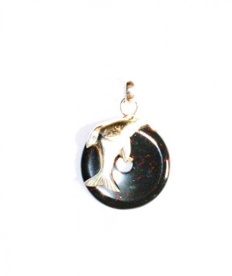 PN245       Sardonyx Pendant in Sterling Silver