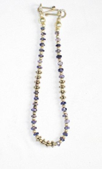 ST018       Sapphire Bracelet in Sterling Silver