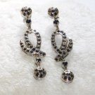 ER078       Sapphire Earrings in Sterling Silver
