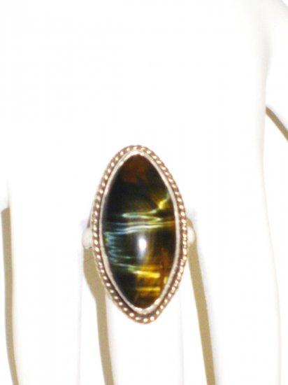 RG002      Labradorite Ring in Sterling Silver, Size 6