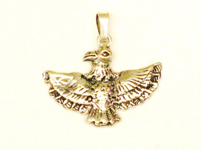 CP014       Flying Eagle Pendant in Sterling Silver
