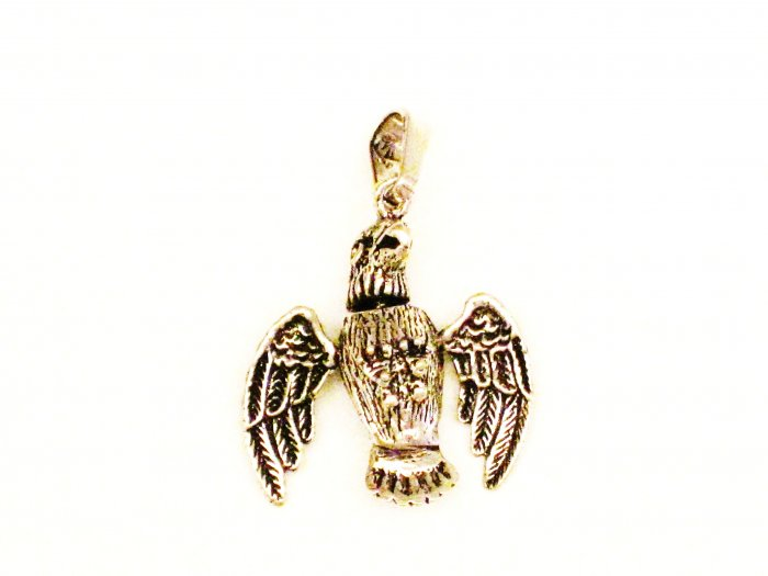 CP017       Eagle Pendant in Sterling Silver