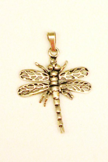 CP021       Mosquito Pendant in Sterling Silver