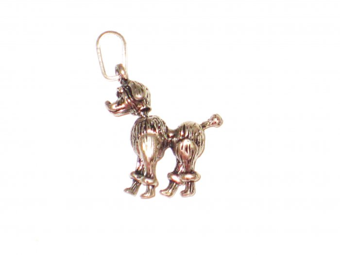 CP026       Doggy Pendant in Sterling Silver