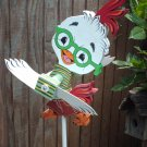Chicken Little Whirligig- wind, motion,  mobile