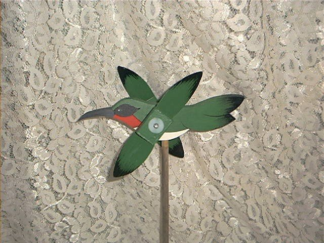 Hummingbird Whirligig- wind, motion, mobile