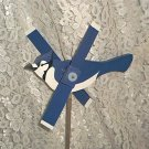 Blue Jay Whirligig- wind, motion, mobile
