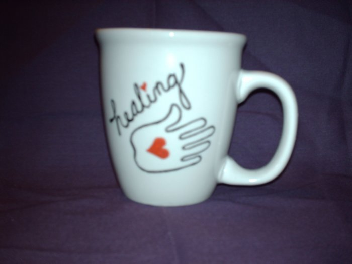 Your Name on Personalized Coffee Mug- HEALING SPIRITUAL