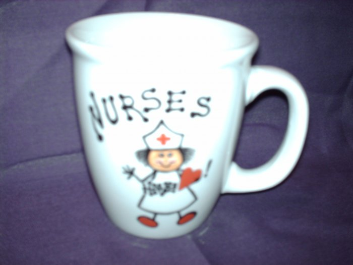 Your Name on Personalized Coffee Mug-NURSE