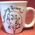 Personalized Coffee Mug 12Oz.  BEADING QUEEN