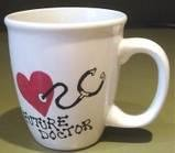 Personalized Coffee Mug 12Oz.  MEDICAL THEME/ FUTURE DOCTOR