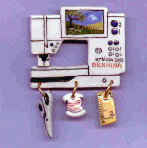 Decorative Sewing Machine Pin- BERNINA 200E