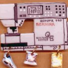 Decorative Sewing Machine Pin-  BERNINA 440QE Model