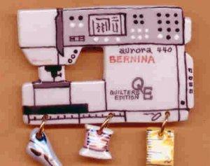 Decorative Sewing Machine Pin-  BERNINA 440QE Model