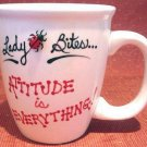 Personalized Coffee Mug 12Oz. ATTITUDE  Ladybug