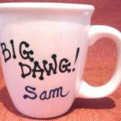 Personalized Coffee Mug 12Oz.  BIG DAWG