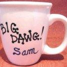 Personalized Coffee Mug 12Oz.  BIG DAWG