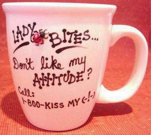 Personalized Coffee Mug 12Oz.  ATTITUDE