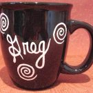 Personalized Coffee Mug 12Oz. Black Mug