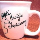Personalized Coffee Mug 12Oz.  TAXIDERMY  DEER HUNTER