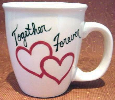 Personalized Coffee Mug 12Oz. LOVE  VALENTINE