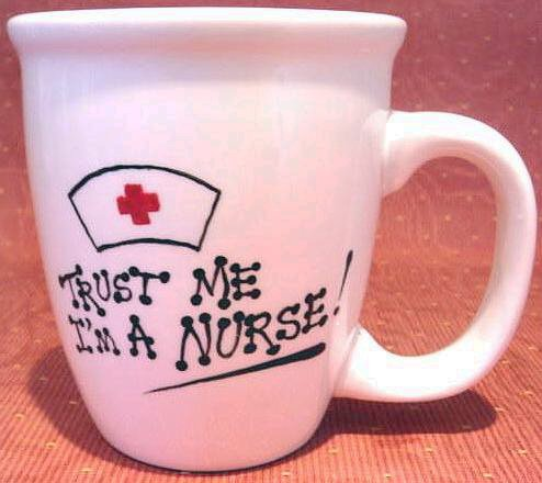 Personalized Coffee Mug 12Oz. MEDICAL  NURSE