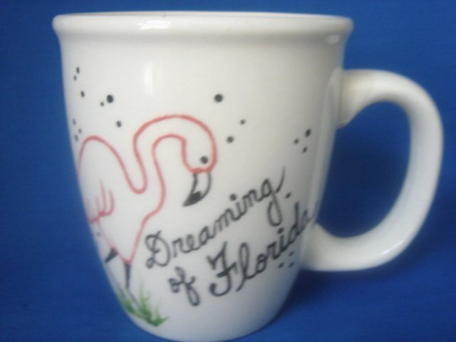 Personalized Coffee Mug 12Oz.   DREAMING OF FLORIDA