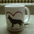 Personalized Coffee Mug 12Oz.  GERMAN SHEPHERD DOG