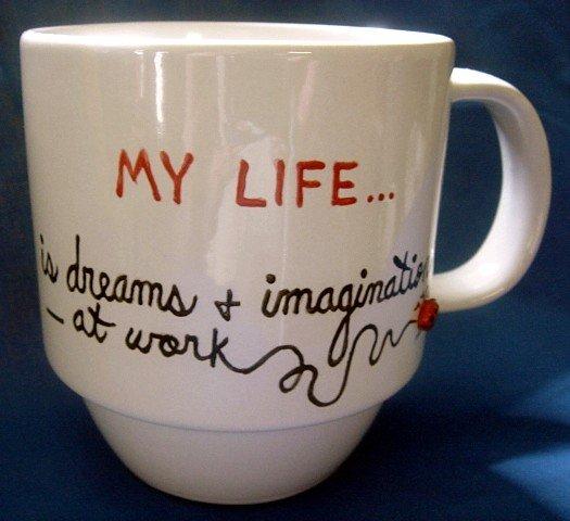 Personalized Coffee Mug 12Oz. MY LIFE