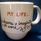 Personalized Coffee Mug 12Oz. MY LIFE