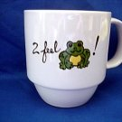 Personalized Coffee Mug 12Oz     I feel FROGGY