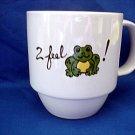 Personalized Coffee Mug 12Oz     I feel FROGGY