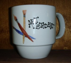 Personalized Coffee Mug 12Oz.  ART STUDENT