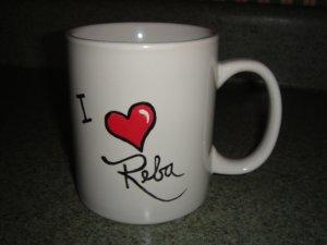 Personalized Mug - I LOVE REBA