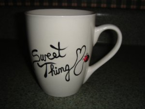Personalized Mug - SWEET THING  Ladybug