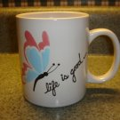 Personalized -  Mug Life is good  BUTTERFLY